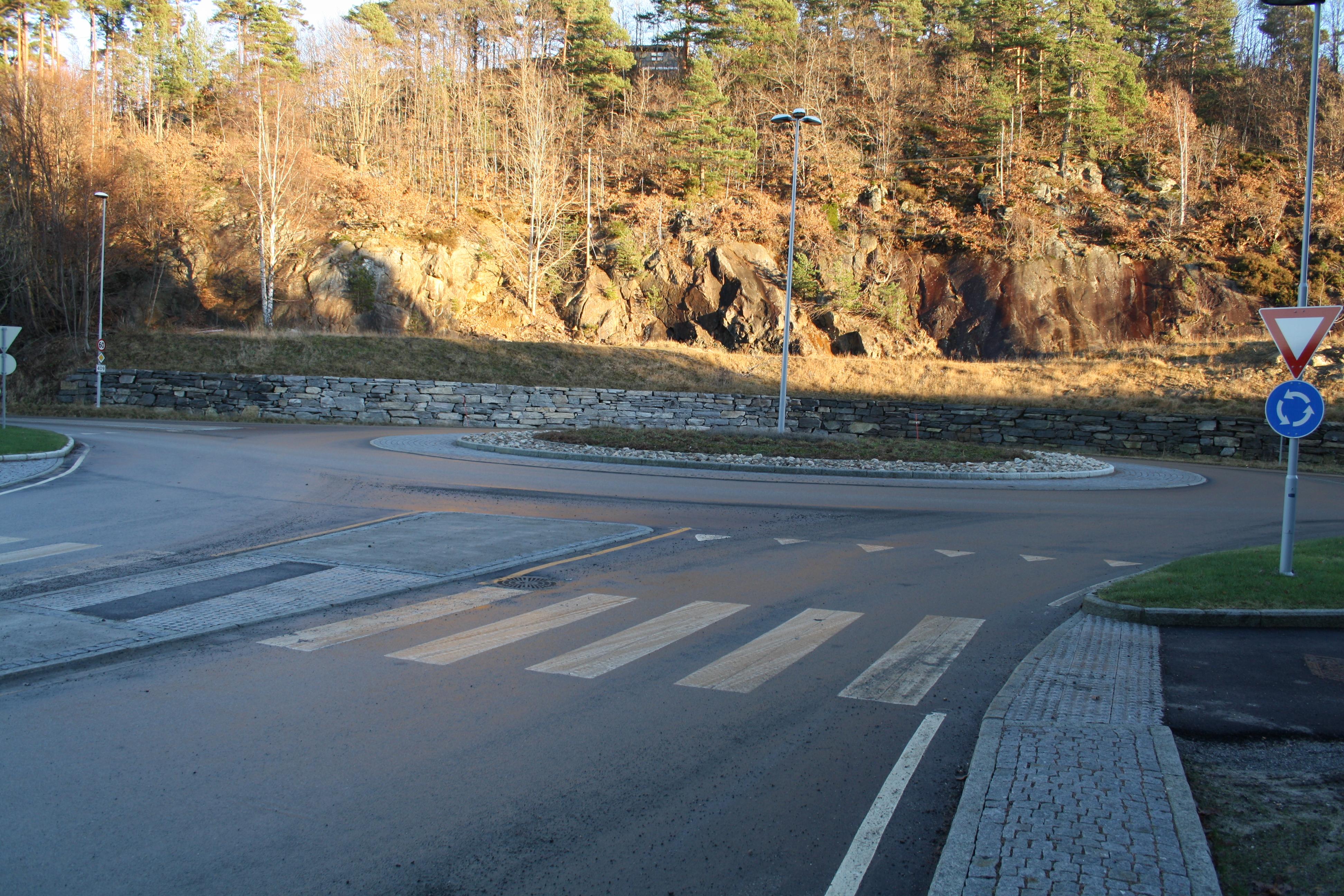 Rundkjøring Marisberg